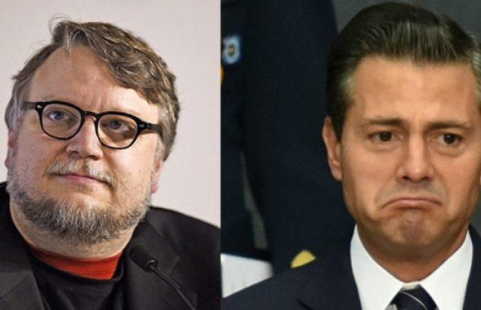 A Guillermo del Toro le disgustó felicitación de Enrique Peña Nieto