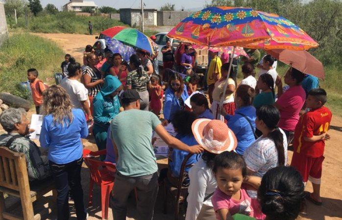 Gobierno Municipal refuerza apoyos en beneficio de las familias de la colonia Los Llanos
