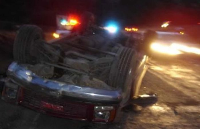 Muere mujer en carreterazo en Guerrero