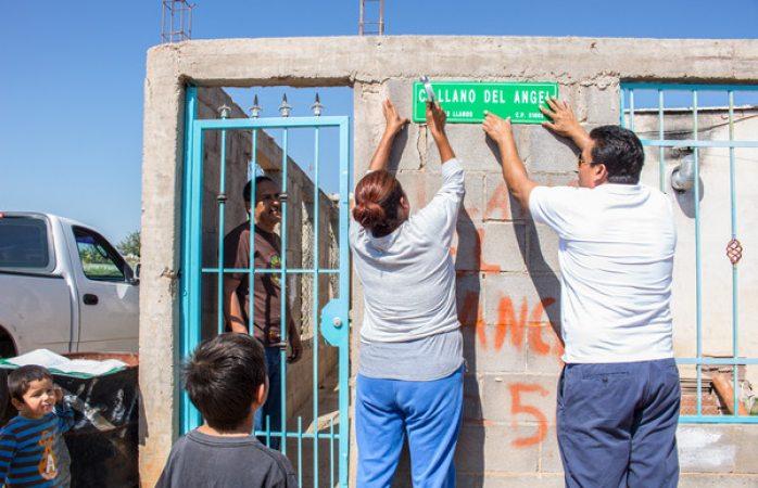 Ha instalado Gobierno Municipal 440 letreros de nombre de calle