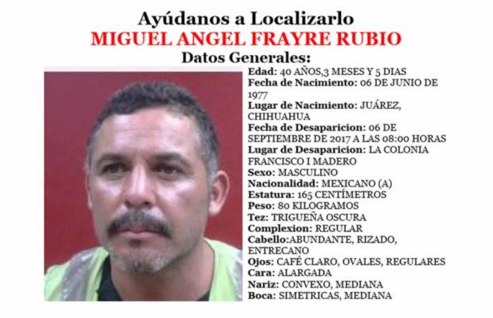 Piden ayuda para hallar a 5 desaparecidos en Juárez