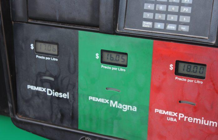 Amplio margen de norte a centro en precios de gasolina