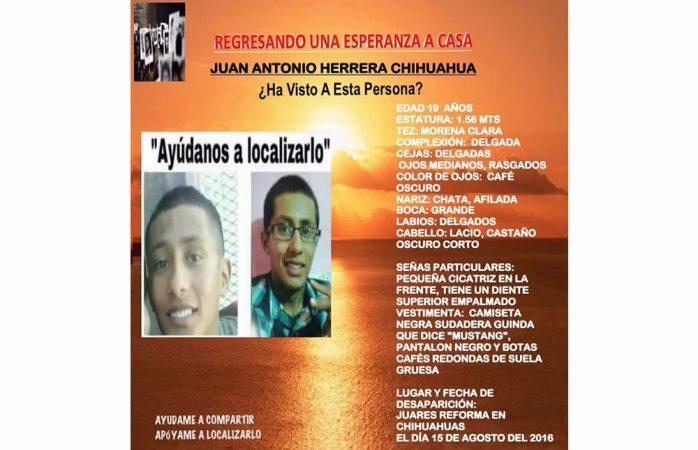 LOCALIZADO   Juan Alberto desapareció cuando viajaba a Hidalgo