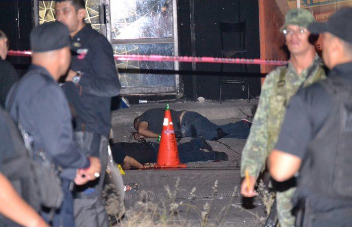 Tres ejecutados y tres heridos en el Bar Show Men