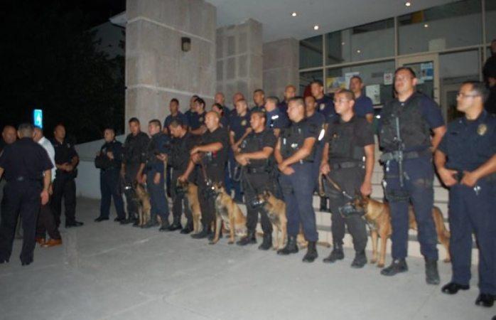 Se suman elementos de Seguridad Pública a labores de rescate en la CDMX