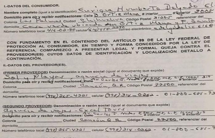 Alertan sobre empresa fraudulenta de viajes a Cancún