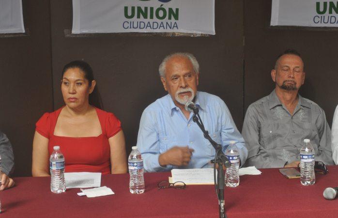 Exige unión ciudadana a poderes estatales apoyen demanda vs Duarte