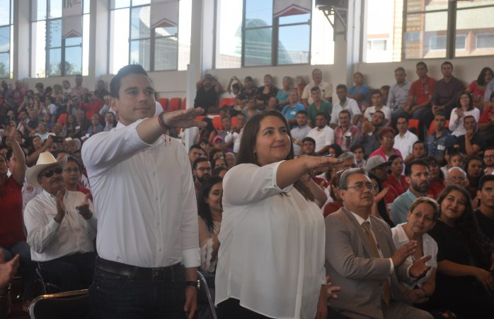 Rinde protesta Teokali Hidalgo para dirigencia municipal PRI