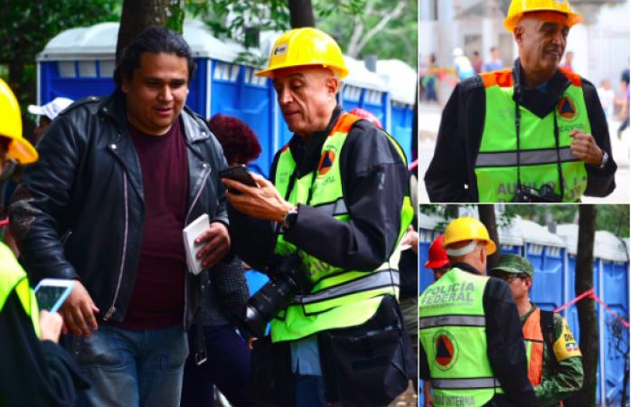 Pide disculpas exproductor Pedro Torres por usar chaleco oficial
