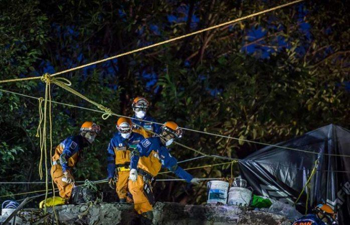 Aumenta a 180 número de muertos en Cdmx tras sismo
