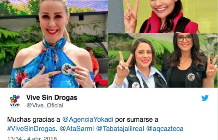 Tachan de traidora a Atala Sarmiento por foto con productores de Televisa