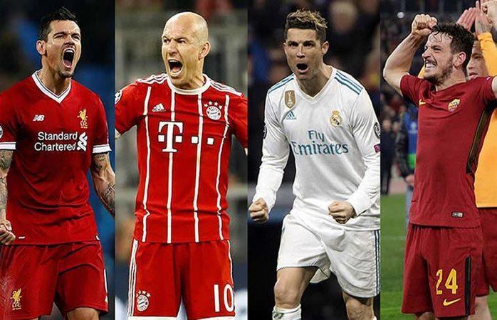 Semifinales históricas en Champions League