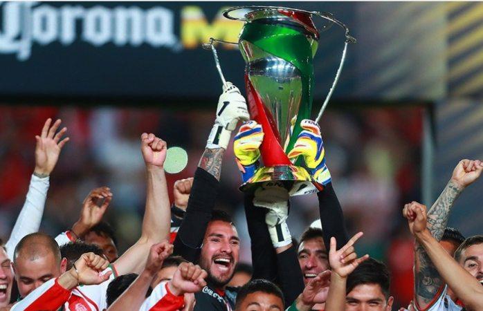 Necaxa vuelve a ganar un título en 1era después de 19 años