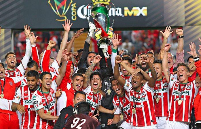Necaxa es Campeón de la Copa MX