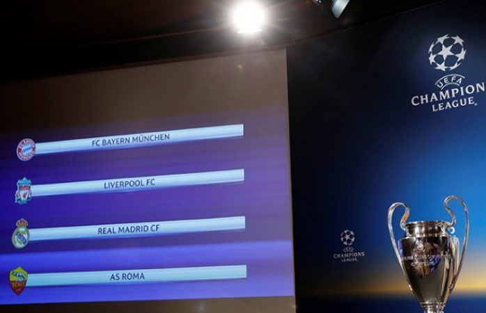 Quedan definidas las semifinales de las Champions