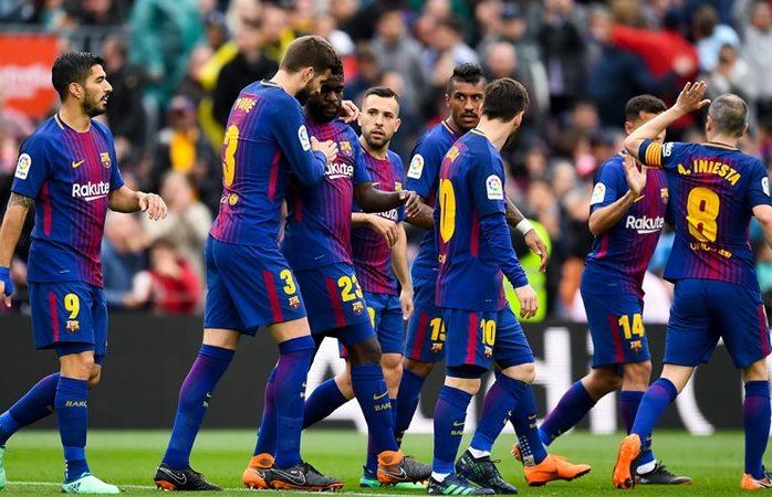 Logra Barcelona récord invicto en la liga
