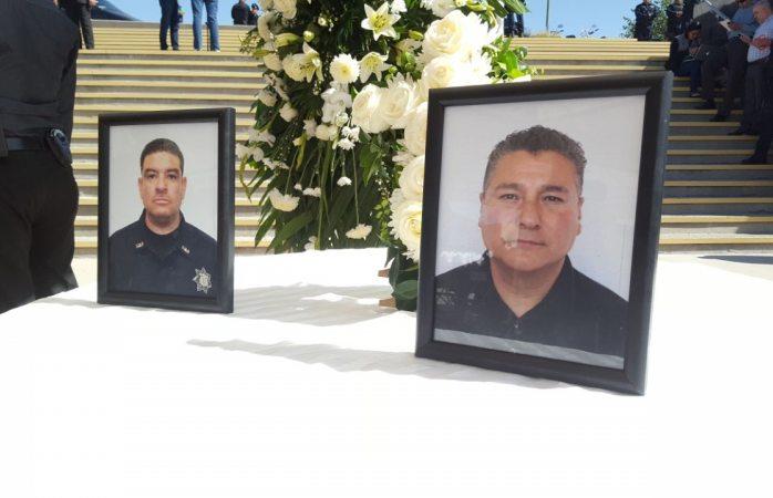Rinden honores a estatales ejecutados
