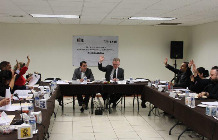 Aprueba asamblea municipal candidaturas a alcaldía, síndico y diputaciones