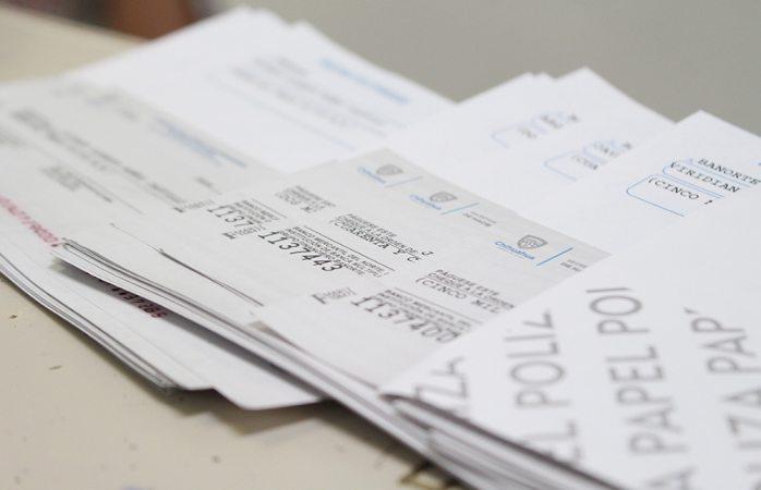 Cheques por mil pesos porque así les corresponde: hacienda