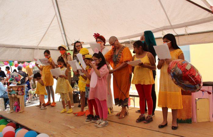 Celebran festival de la niñez en granja hogar