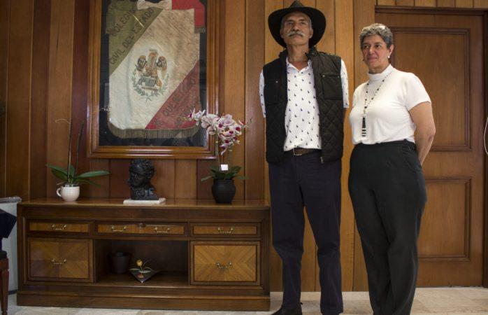 Saque las manos del proceso electoral, pide Mireles a Peña