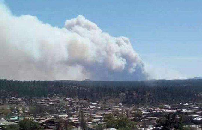 Piden víveres para gente de Madera por incendio