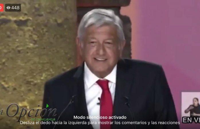 Lograremos la cuarta transformación de México: Amlo
