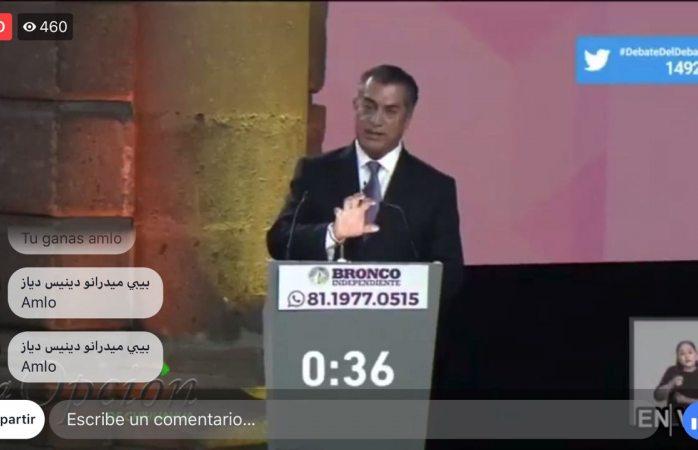 Los partidos son el cáncer de México: El Bronco
