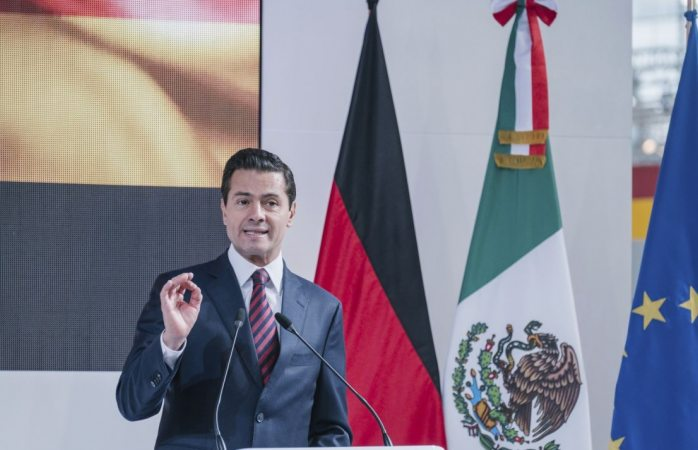 México vive una elección intensa y competida: Peña