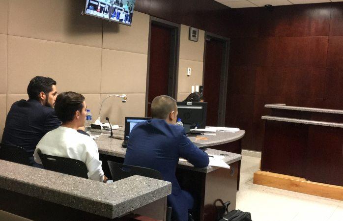 Presentan ante juez a ex colaborador de Duarte