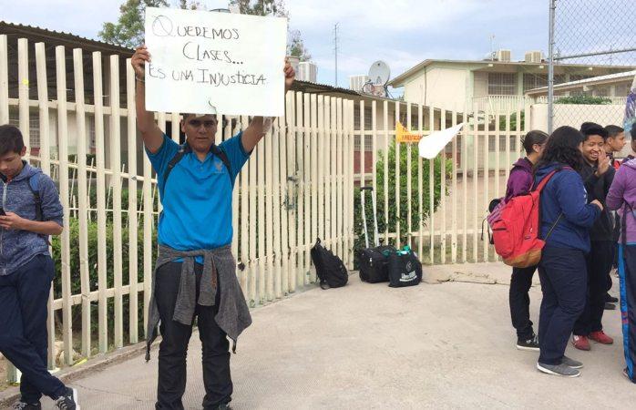 Impidieron a maestros dar clases en Telesecundaria