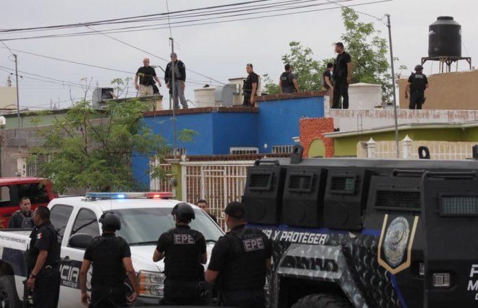 En Vivo: se enfrentan ministeriales y sicarios por Pistolas Meneses