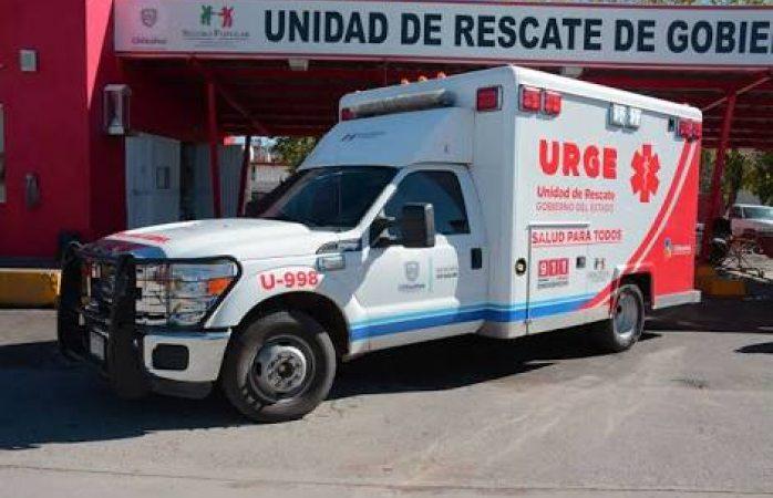 Cuenta Urge con sólo 4 ambulancias por turno