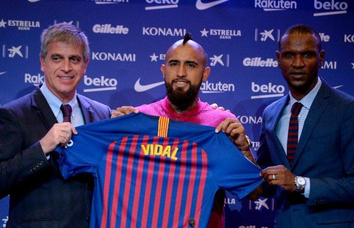 Vidal llega al Barça