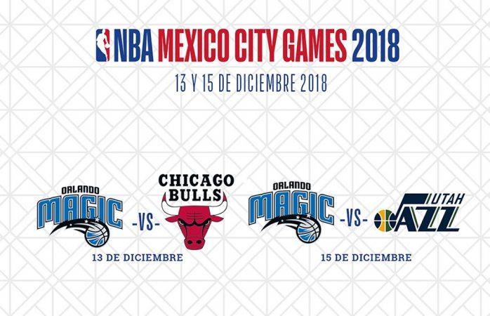 Vuelve la NBA a México; Magic de Orlando el anfitrión