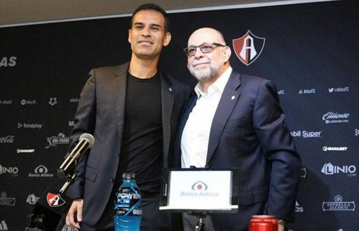 Rafa Márquez, nuevo director deportivo de Atlas