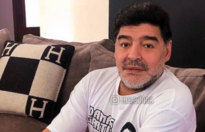 Me jode que me excluyan de la selección: Maradona
