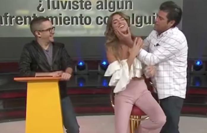 El burro Van Rankin intentó besar a la fuerza a actriz