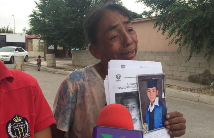 Clama mamá de Rafita a secuestradores que devuelvan a su hijo