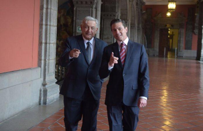 Pactan Peña y Amlo fiscales y SSP para diciembre