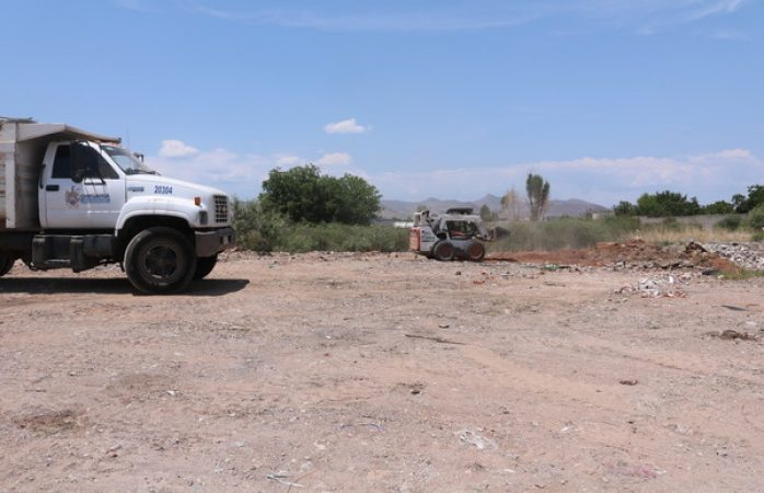 Retira Municipio 108 toneladas de desechos del Arroyo Número 1
