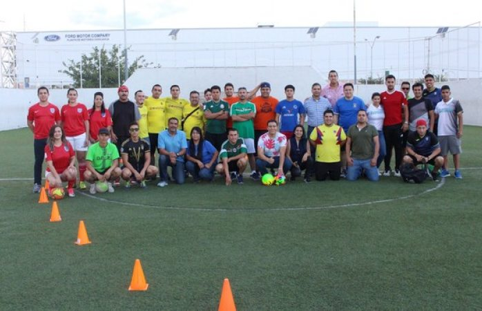 Comienza Torneo de Fútbol Rápido de Interdependencias