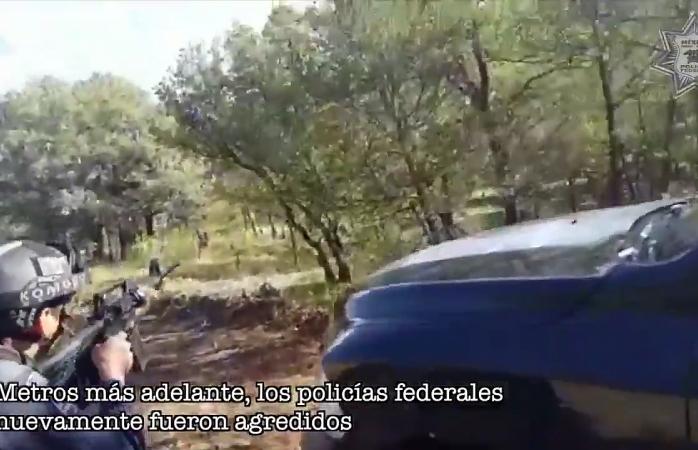 Difunde PF video de enfrentamientos en Cuauhtémoc