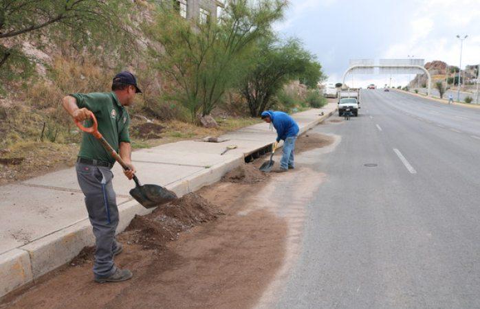 Previene Municipio sobre puntos de arrastres por lluvias