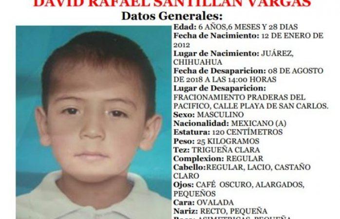 Desaparece menor de 6 años en Juárez; familiares buscan su paradero