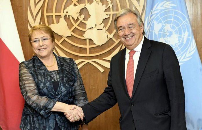 Avalan a Bachelet en ONU para derechos humanos
