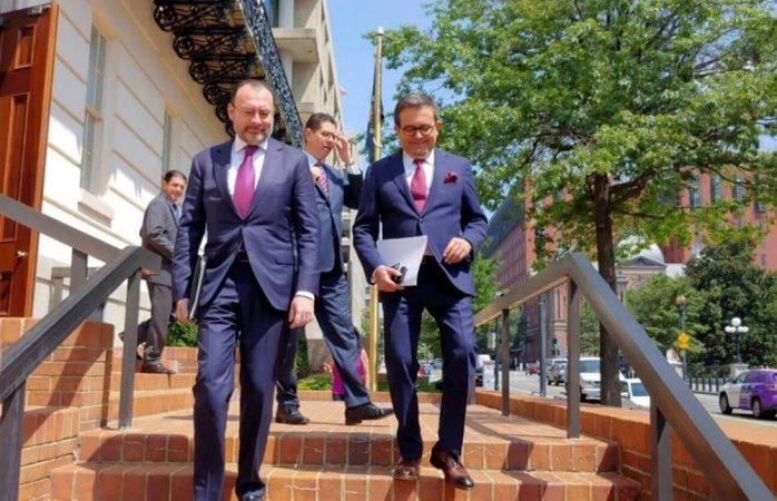 Extienden México y EU pláticas bilaterales de TLC