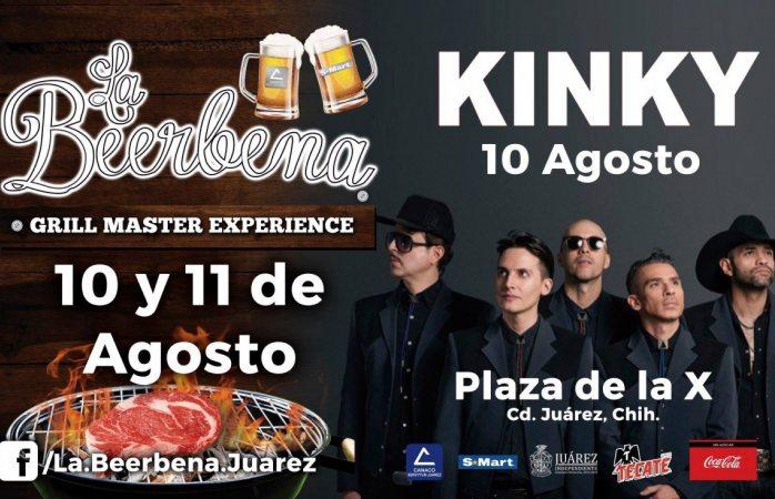 Toca hoy Kinky en Juárez