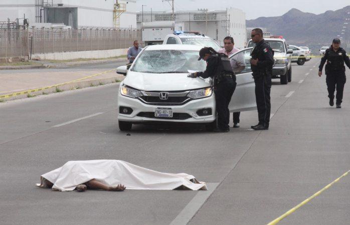 Muere al ser atropellado en Guillermo Prieto Lujan