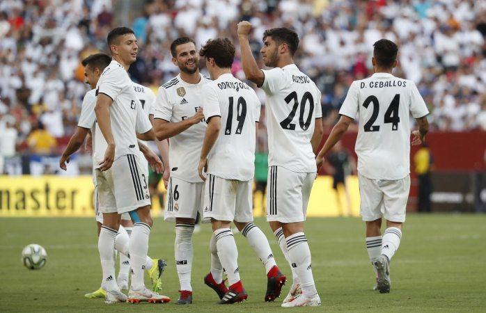 Fútbol: Real Madrid fue campeón en casa